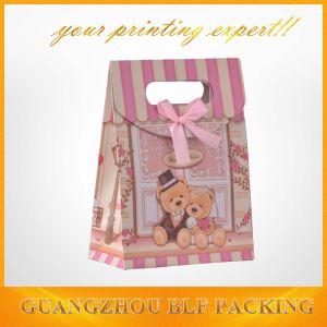 Очаровательный несут изображение подарочный пакет бумажный мешок резки (BLF-PB071)