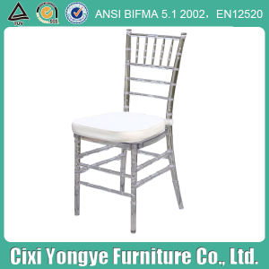 Events를 위한 은 Resin Chiavari Chair