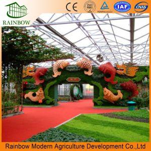 생태학적인 대중음식점 및 식물성 관광 정원을%s 유리제 온실