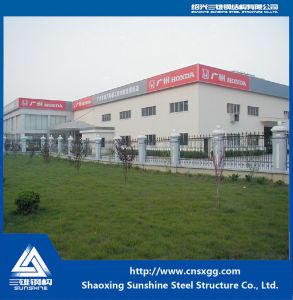 Amplia gama Showroom Estructura de acero para la decoración