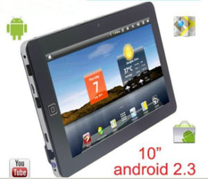 10.1Android 2.3 Tablet PC Táctil