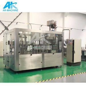 Garantie de 2 ans 304/316haute vitesse automatique SUS L'eau minérale Bouteille de liquide de l'embouteillage usine de remplissage