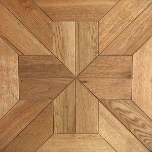 Récupéré Chêne français Versailles Plancher Plancher de la mosaïque de bois d'ingénierie