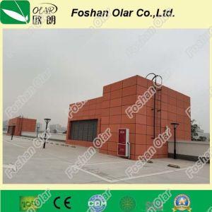 Fibre de ciment ou le revêtement de façade bord--l'extérieur imperméable haute densité