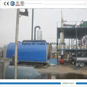 원유 진창을 재생하는 기름 증류법 기계