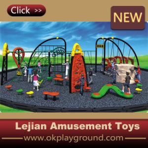 CE enfants en bois et en acier combinée de jeu extérieure (P1201-4)