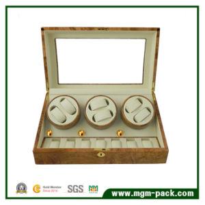 Design grossista 3 Vidros de relógio rotador para 6+7 para relógios