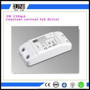 programa piloto de 150mA 3W LED, fuente de alimentación de la luz del punto del LED, programa piloto de la MAZORCA LED de 16-26V 150mA
