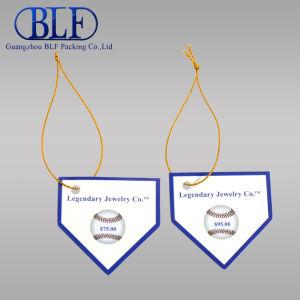 Пользовательские теги ювелирных изделий дизайн печати (BLF-T011)