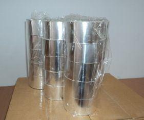 De zilveren Band van de Folie van het Metaal, Druk - gevoelige Band voor het Verzegelen van het Karton