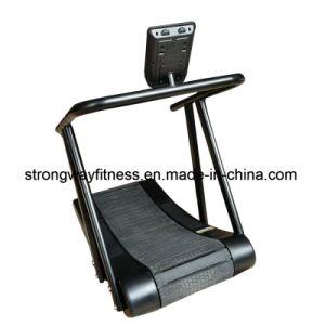 Equipamiento de gimnasio/curva Woodway Andadera caminadora Rastreador/comerciales.