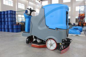 Camminata di marca di Kudat dietro l'impianto di lavaggio di lavaggio del pavimento