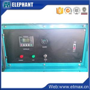 Venda Direta de fábrica 110kVA geradores silenciosa de alimentação de gasóleo com o Painel de Controle de Profundidade