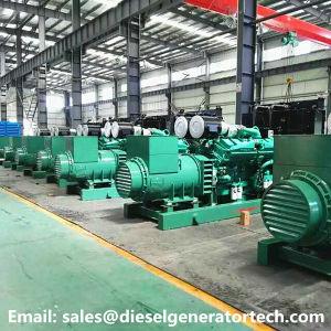 250kw générateur d'urgence/générateur électrique avec moteur diesel Cummins