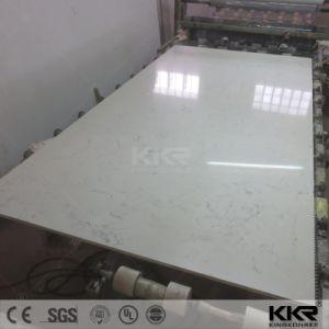 Pierre artificielle de quartz blanc pur dalles de pierre pour le Quartz Tile