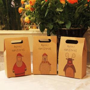 Sacs-cadeaux en papier kraft, Joyeux Noël Sacs en papier kraft, mariage, fête, Baby douche, faveur, la cuisson à l'emballage, faveur sac de papier