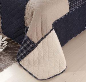 100% хлопок постельное белье, Клетчатую Пэтчворк одеяла