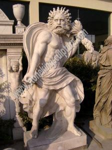 庭(SK-2072)のための最上質の石造りの切り分ける彫像