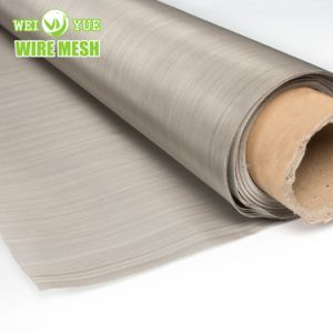 Paño de metal de malla de acero inoxidable para la ropa