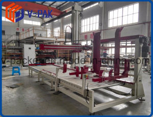 Volledige Automatische het Palletiseren Machine voor de Lijn van de Verpakking van de Drank (v-PAK wj-smd-20)