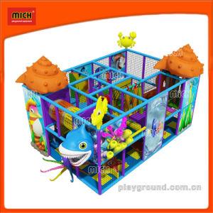 Populäre preiswerte Preis-große Marineserien-weiche Spielplatz-Geräten-Kind-Plastikinnenspielplatz