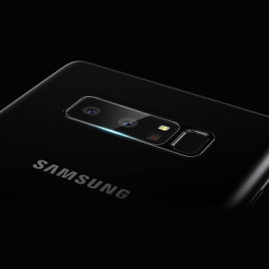 Samsungギャラクシーノート8のための新しい到着のファイバーガラスのカメラレンズの保護装置