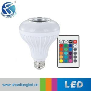 Control remoto del reproductor de música inalámbrico Bluetooth Smart LED Lámpara de música