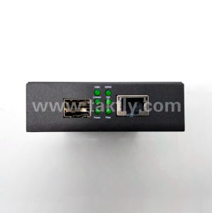 FCC 10g SFP+インターフェイスファイバーのイーサネット媒体のコンバーター