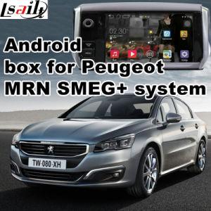 Navegação Android para a Peugeot 208 2008 308 408 508 Mrn Smeg+ Atualização de Interface de Vídeo a navegação por toque, WiFi, Mirrorlink, Google Map,