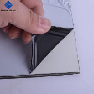 50-90 Mícron Preto/Branco Opaco Anti-UV PE Película adesiva plástica para painel composto de alumínio ACP