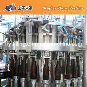 Máquina de enchimento de cerveja de garrafas de vidro