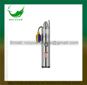 370W 0.5HP Aluminiumdraht-volle Edelstähle Qgd versenkbare Schrauben-Pumpe mit Niveauschalter