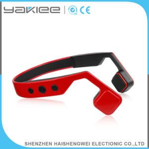 뼈 유도 무선 입체 음향 Bluetooth 빨간 헤드폰