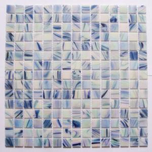 鉱泉のJaccuziのタイルデザインプールガラスのモザイク
