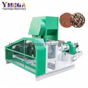Caixa de alimentação animal Máquina Pellet Feed Peixe peletizadora Flutuante