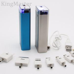 batería al aire libre del estado de excepción del metal 4400mAh para el móvil con el cable