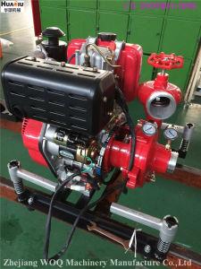 Pompe centrifuge de lutte contre les incendies Portable avec moteur Diesel Jbc5.2/8 Bj-10b