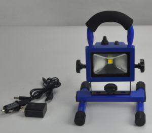 Brillante de alta potencia 20W COB Farol recargable LED