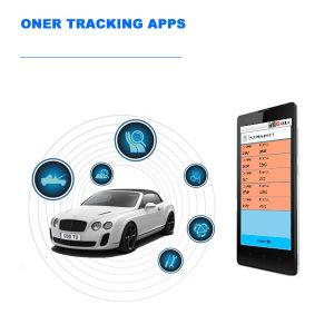 Inseguitore di GPS con la scheda di deviazione standard per i dati che memorizzano e che esportano