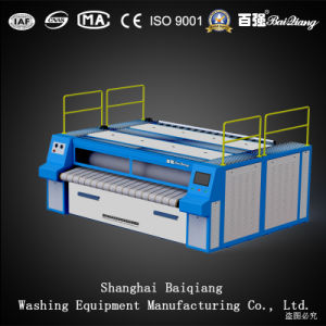 ISO keurde (het 3000mm) volledig Automatische Industriële groef-Type Ironer van Wasserij (Stoom) goed