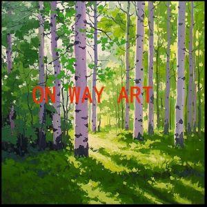 Het Olieverfschilderij van de Impressionist van Onwayart (OA-O52)