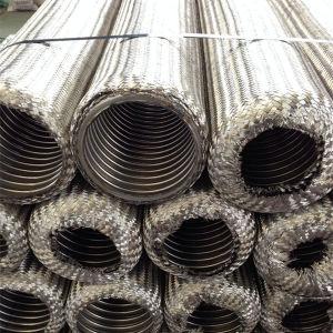 Tubo flessibile d'acciaio flessibile ondulato