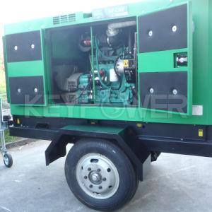 トレーラーが付いているKeypower 40kVA 1500rpmの移動式ディーゼル発電機