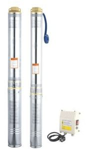 100QJD8 Series Furo artesiano Submersível Bomba de Água