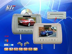 9  lettori DVD dell'affissione a cristalli liquidi del poggiacapo TFT dell'automobile