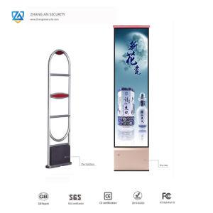 1b9bad35f Sistema de Alarme de Segurança contra roubo com caixa de luz de anúncio  para a loja de roupas