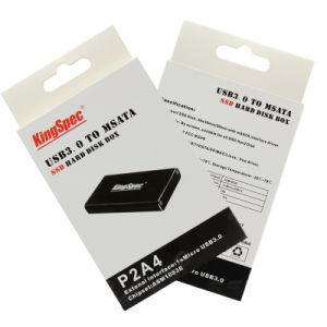 Msata твердотельные накопители с интерфейсом USB 3.0 внешнего отсека жесткого диска в формате HD в салоне чехол для хранения адаптер 30мм*50мм B Msata для портативного компьютера для настольных ПК