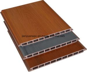 ASA-PVC Co-Extrusion WPC Material de construcción exterior del panel de revestimiento de pared decorativos