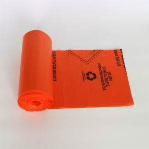 Bolsa de plástico biológico de residuos médicos / Bolsa de basura médica