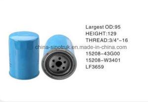 Hot Sale Nissan l'eau huile carburant du filtre à air 15208 15208-Z9007-Z9001